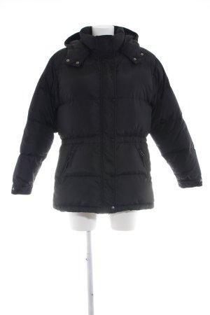 Gant Winterjacke schwarz Steppmuster Casual-Look
