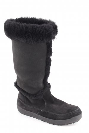 Gant Winterstiefel schwarz Street-Fashion-Look