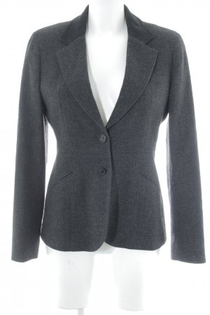Gant Woll-Blazer anthrazit-schwarz meliert Business-Look