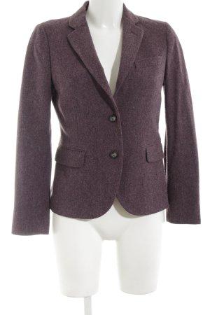Gant Blazer en laine violet moucheté style d'affaires