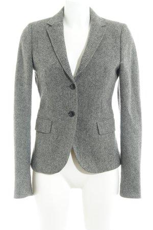 Gant Blazer en laine gris-gris foncé moucheté style d'affaires
