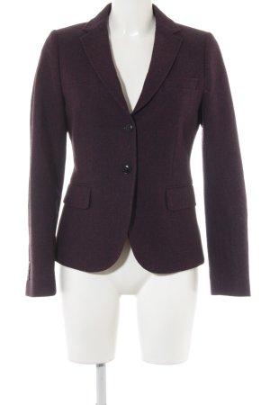 Gant Woll-Blazer purpur-dunkelblau Webmuster Business-Look