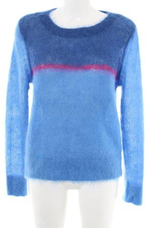 Gant Wool Sweater blue-pink casual look