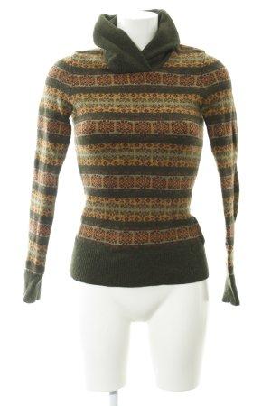 Gant Wollpullover abstraktes Muster Casual-Look
