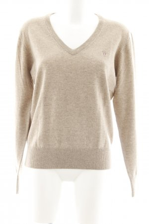 Gant Wollpullover beige Casual-Look