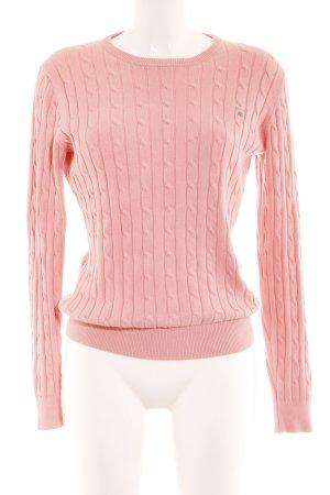 Gant Wollpullover rosa schlichter Stil