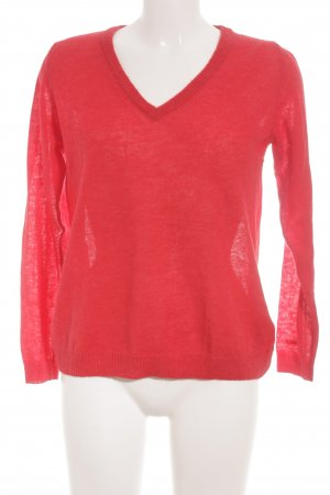 Gant Wollpullover rot Business-Look