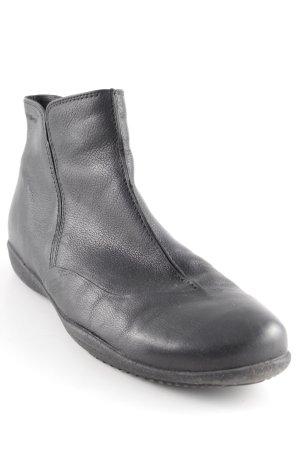 Ganter Reißverschluss-Stiefeletten schwarz Casual-Look