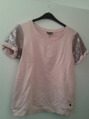 Street One Short Sleeve Sweater pink-light pink cotton