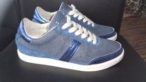 Zapatillas azul Cuero