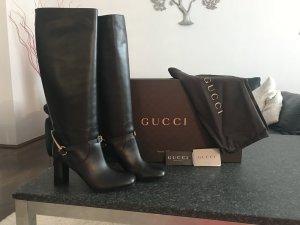 Gucci Stivale alto nero Pelle