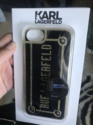 Karl Lagerfeld Étui pour téléphone portable multicolore