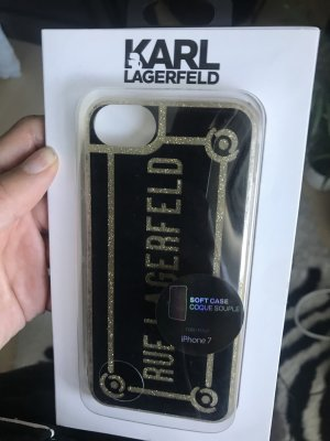 Karl Lagerfeld Hoesje voor mobiele telefoons veelkleurig