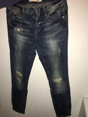 Ganz neue moderne Zipper Jeans in Größe 36
