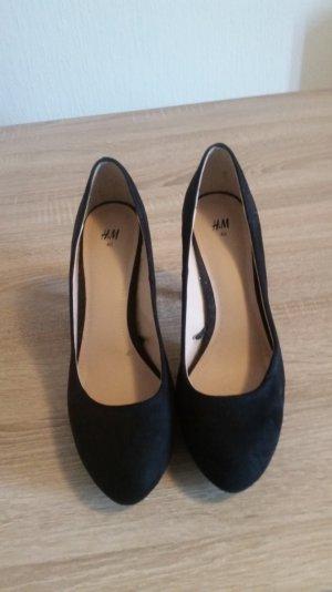 Ganz neue Schuhe von H&M. Samtoptik!
