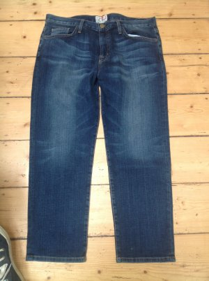 Current/elliott Boyfriend Jeans steel blue mixture fibre