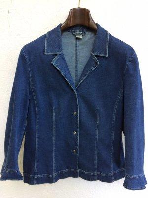 DUO Veste en jean bleu