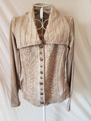 Ganz tolle Jacke in Taupe Gr. 36