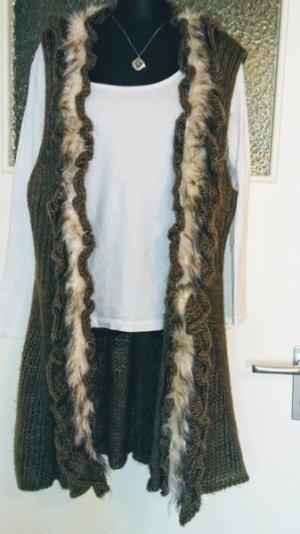 Ganz tolle long Weste aus Wolle#