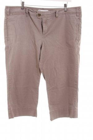 Gap Pantalón pirata marrón grisáceo look casual