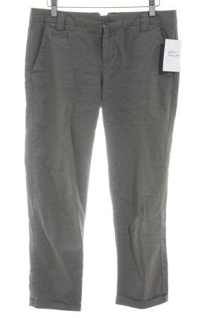Gap Pantalon 7/8 gris brun style décontracté