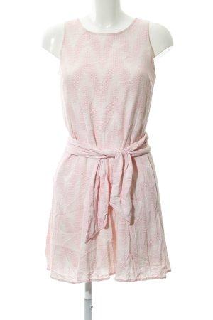 Gap A-Linien Kleid creme-pink Casual-Look