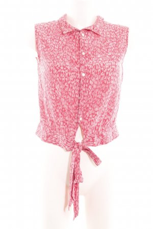 Gap Blusentop pink Allover-Druck Casual-Look
