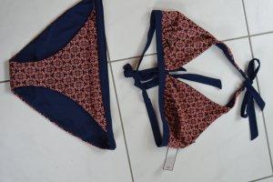 GAP Body Bikini blau/orange Gr. XL, neu mit Schutzfolie, beidseitig tragbar