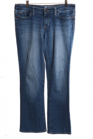 Gap Boot Cut Jeans blau Casual-Look