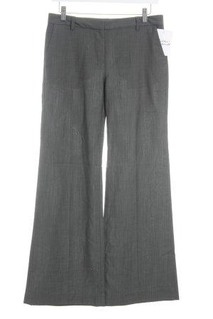 Gap Pantalón de pinza gris oscuro-negro estilo «business»