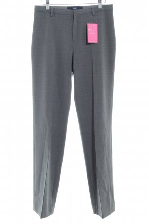 Gap Bundfaltenhose grau Business-Look