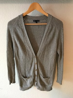 GAP Cardigan Strickjacke grau Gr. S Basic Jacke Strick