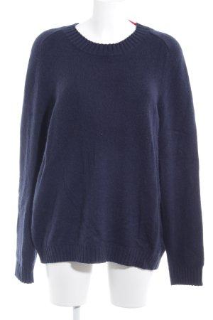 Gap Cashmerepullover dunkelblau Casual-Look