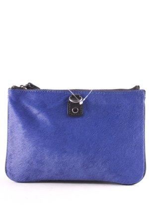 Gap Clutch blau-schwarz schlichter Stil