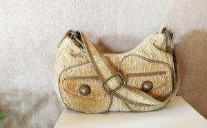 GAP Cord Handtasche beige