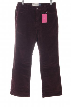 Gap Cordhose bordeauxrot Casual-Look