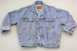 GAP Cro Acid Wash 80er Jeansjacke Oversized Blogger Original Vintage Jeans Gr.S
