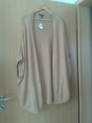 GAP damen ärmellose strickjacke cardigan. gr. m/l Sandbraun und Camel