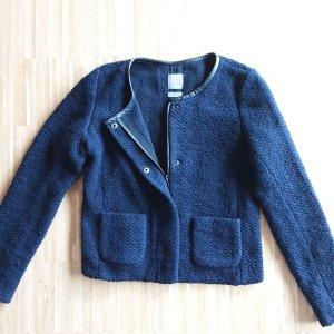 Gap, dunkelblaue, kurze Wolljacke  Gr. 36
