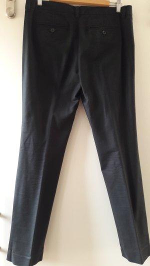 Gap Pleated Trousers black textile fiber