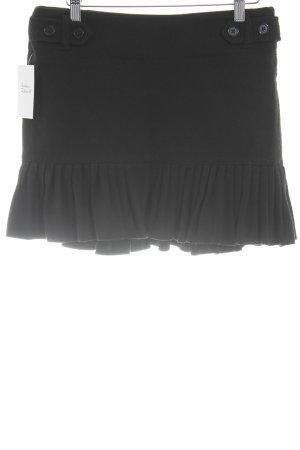 Gap Flared Skirt black Brit look