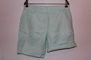 GAP Gr. 38 Chinohose Hose Shorts Damen mintgrün grün Leinen