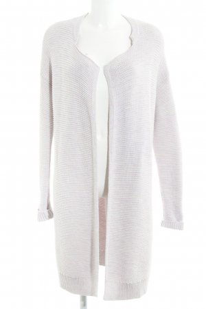 Gap Coarse Knitted Jacket light pink loosely knitted pattern casual look