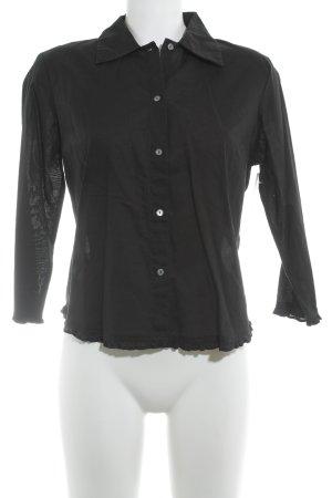 Gap Hemd-Bluse schwarz Elegant