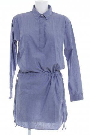 Gap Shirtwaist dress grey violet spot pattern casual look