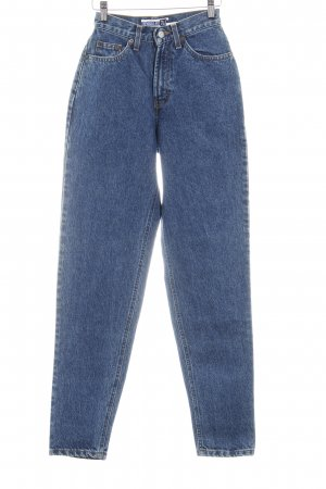 Gap High Waist Jeans blau meliert Casual-Look