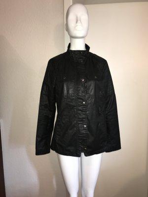 Gap Jacke Biker Style s 36 Belted Wax Jacket Black