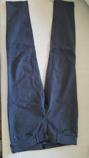 Gap Jeans blau mit zarten weißen Pünktchen Gr. 34