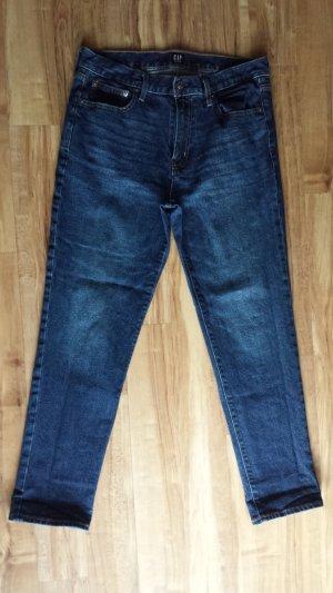 Gap Jeans met rechte pijpen blauw-donkerblauw