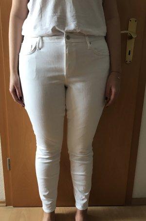 GAP Jeans weiß curvy true skinny Gr. 32R